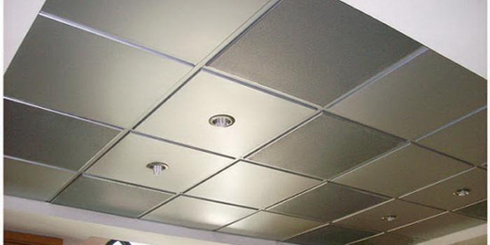 plafon bahan metal