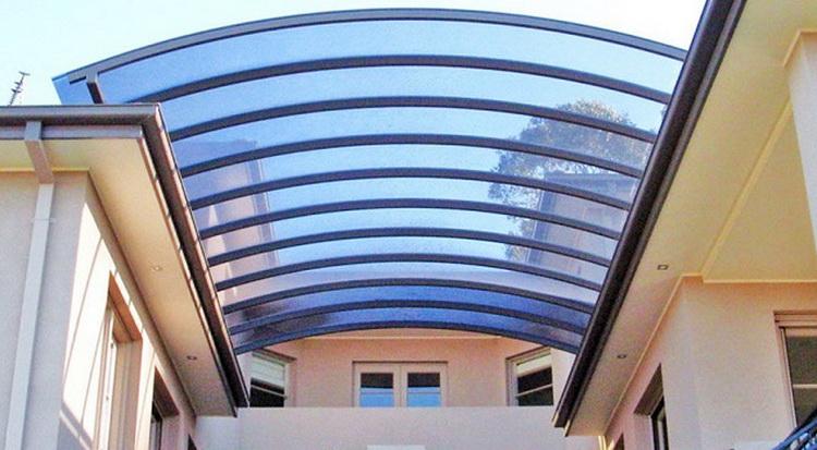 jasa pembuatan kanopi polycarbonate-tangga